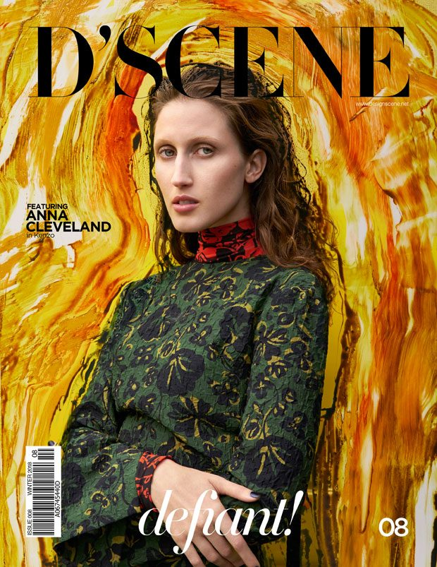 Anna Cleveland In KENZO for D'SCENE 08 – COMING SOON