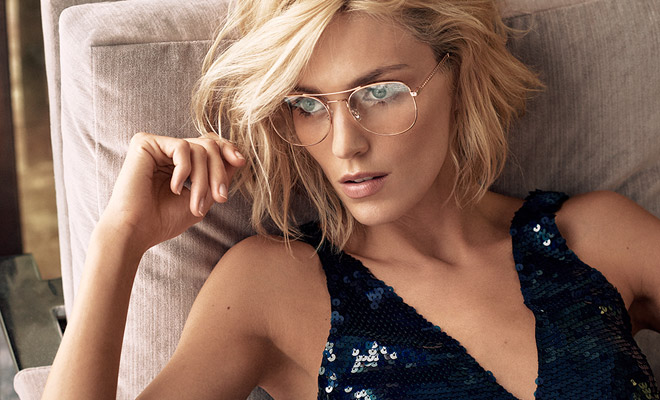 f53cc23e16c Anja Rubik is the Face of Jimmy Choo Spring Summer 2018 Collection