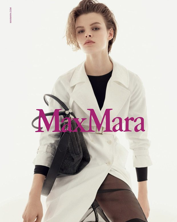 Cara Taylor Is the Face of Max Mara Spring Summer 2018 Collection