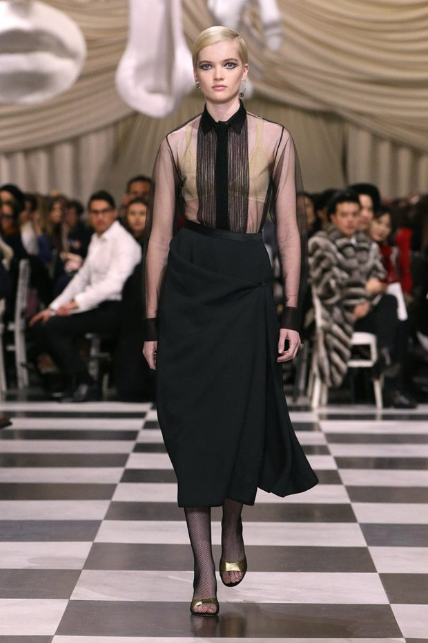 Dior spring summer 2018 haute couture collection for Women s haute couture clothing