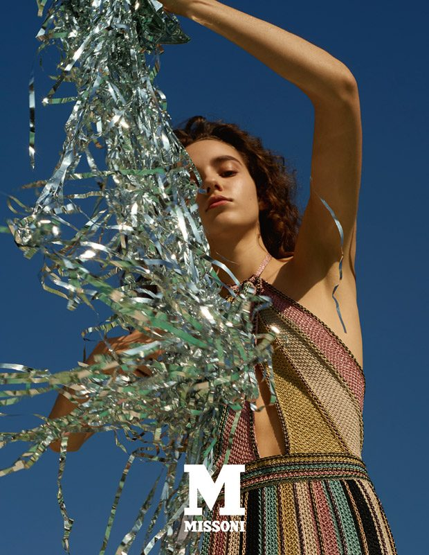Emm Arruda is the Face of M Missoni Spring Summer 2018 Collection