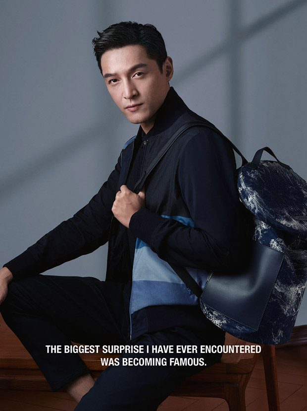 hu ge is the face of emporio armani spring summer 2018