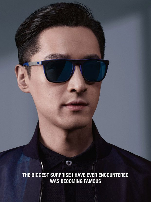 3a0a3e98298 HU GE is the Face of Emporio Armani Spring Summer 2018 Collection
