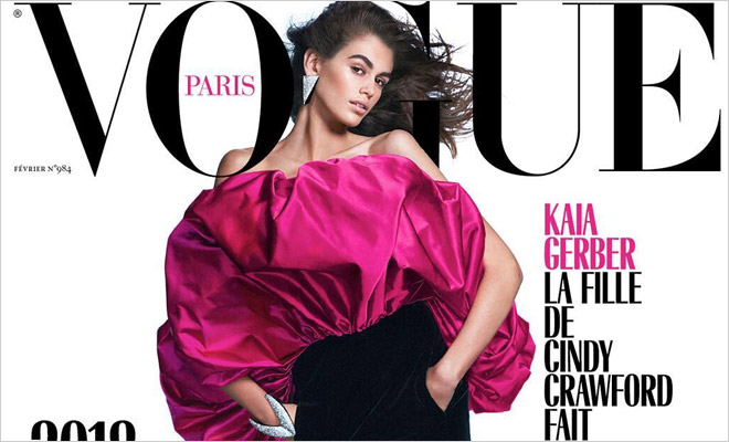 c6c7ab2a4c Kaia Gerber is the Cover Girl of Vogue Paris February 2018 Issue