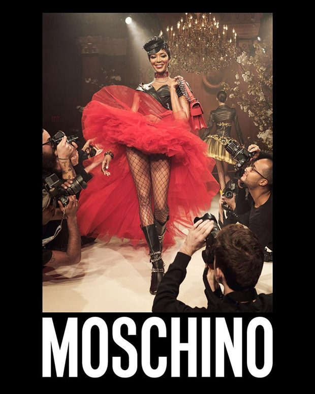 Naomi Campbell, Liya Kebede   More Model Moschino Spring Summer 2018 Collection
