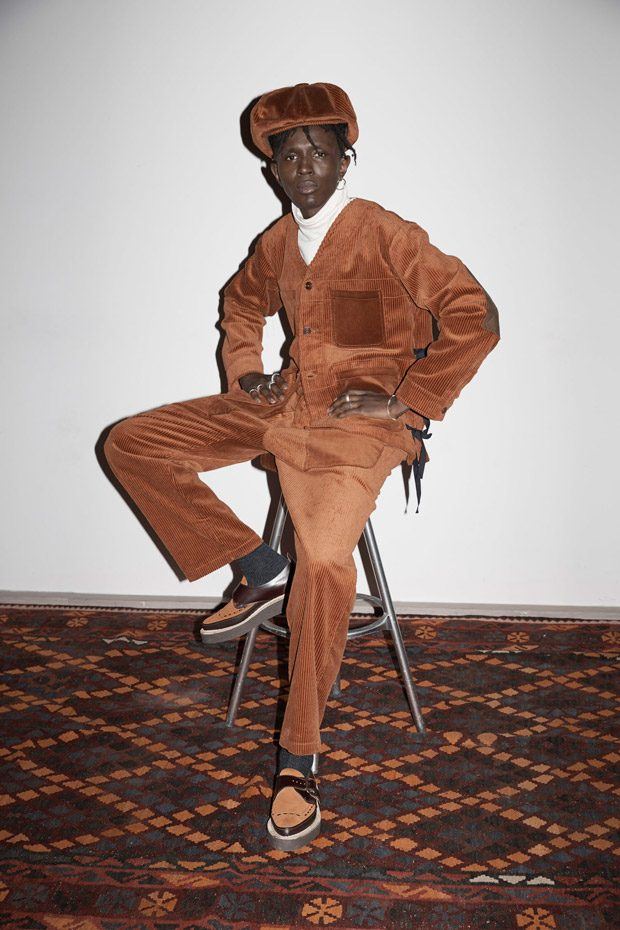 LFWM: Nicholas Daley Fall Winter 2018.19 Red Clay Collection