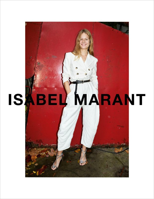 Anna Ewers Models Isabel Marant Spring Summer 2018 Collection