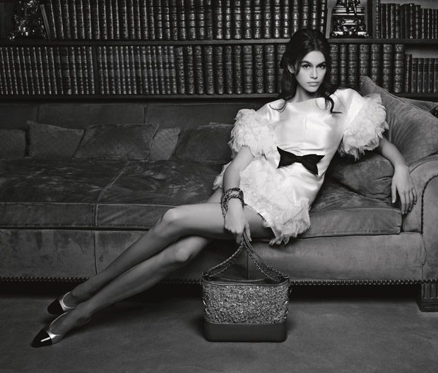 The Rising Star On Modelling Scene Kaia Gerber Img Models Stars In Chanel Handbags Spring Summer 2018 Advertising Campaign Photographed Coco