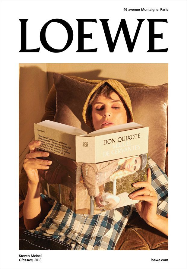 Stella Tennant & Elise Crombez are the Faces of Loewe FW18 ...