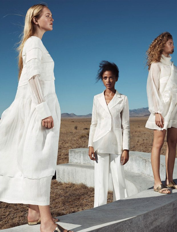 Aya Jones, Dorit Revelis & Jean Campbell for Massimo Dutti SS18
