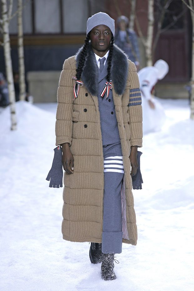 PFW: THOM BROWNE Fall Winter 2018/19 Collection