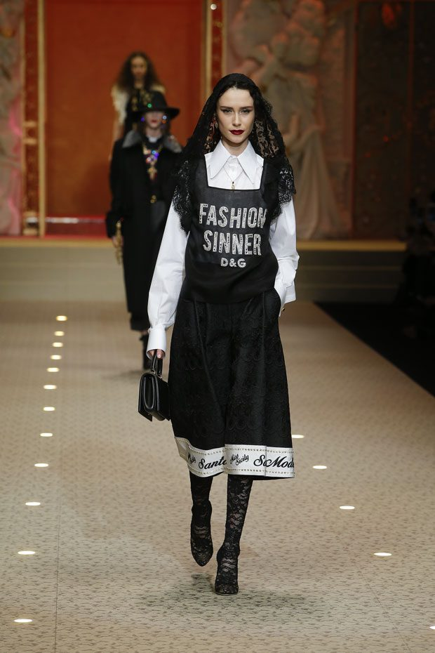MFW: Dolce&Gabbana Fall Winter 2018.19 Womenswear Collection