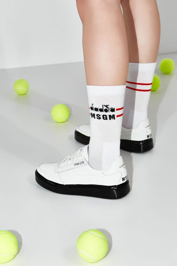 Sportswear Back Collection Is For Msgm Diadora Another TwfxX
