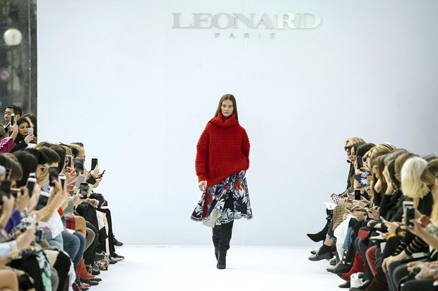 PFW LEONARD Fall Winter 2018.19 Womenswear Collection