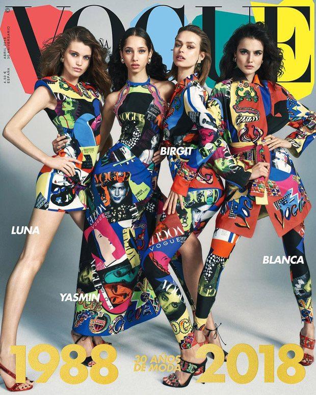 30th Anniversary Vogue Spain