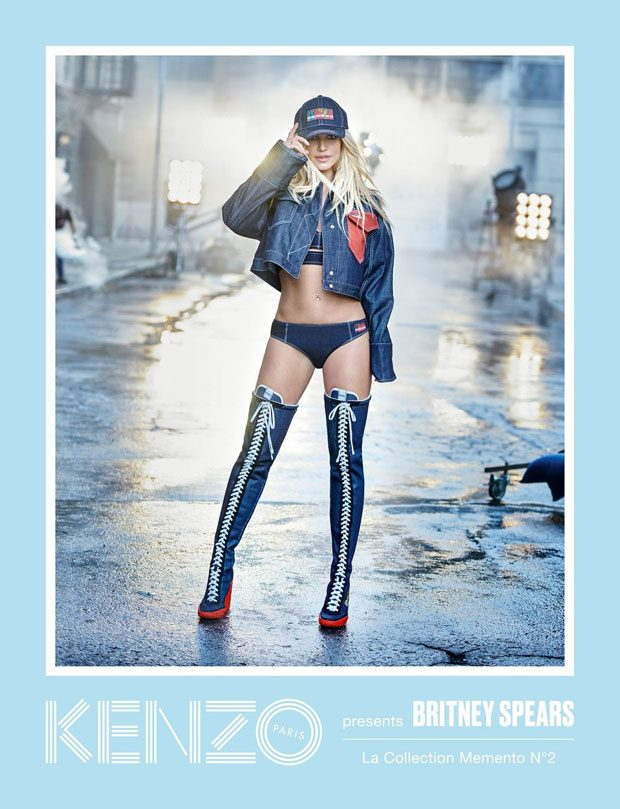 c3b76e8bbe Britney Spears Is The New Face Of KENZO