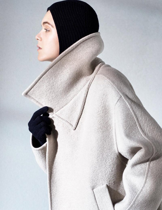 Laurence Van de Perre is the Face of Max Mara Atelier Spring 2018 Collection