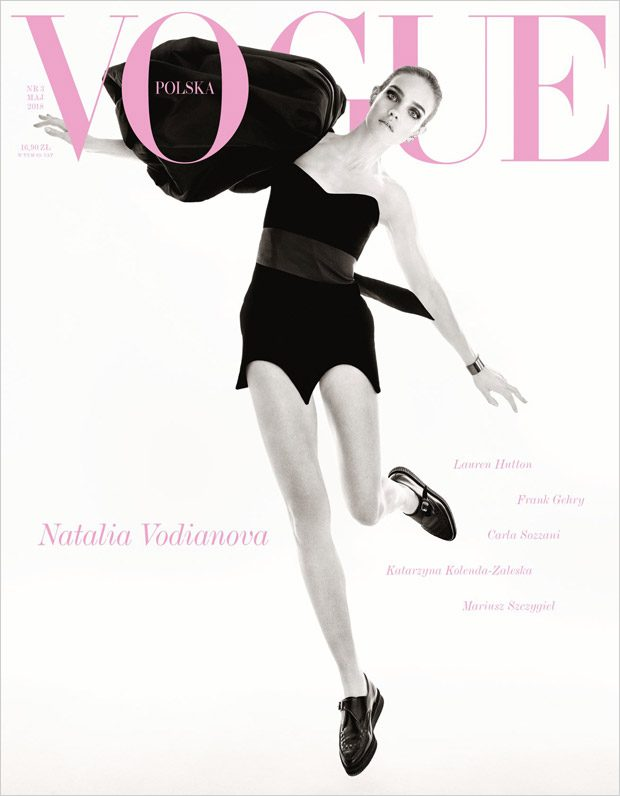 Natalia Vodianova is the Cover Star of Vogue Poland May 2018 Issue
