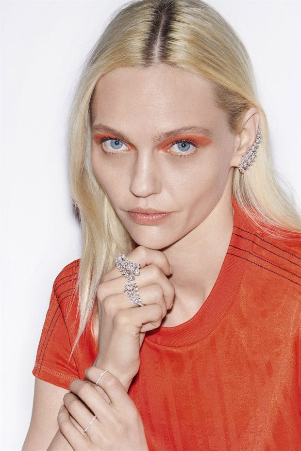 Sasha Pivovarova Models Messika Spring Summer 2018 High Jewelry Collection