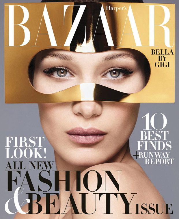 Bella Hadid is the Cover Star of Harper's Bazaar June July 2018 Issue