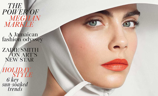 Carnival Row Star Cara Delevingne Covers British Elle
