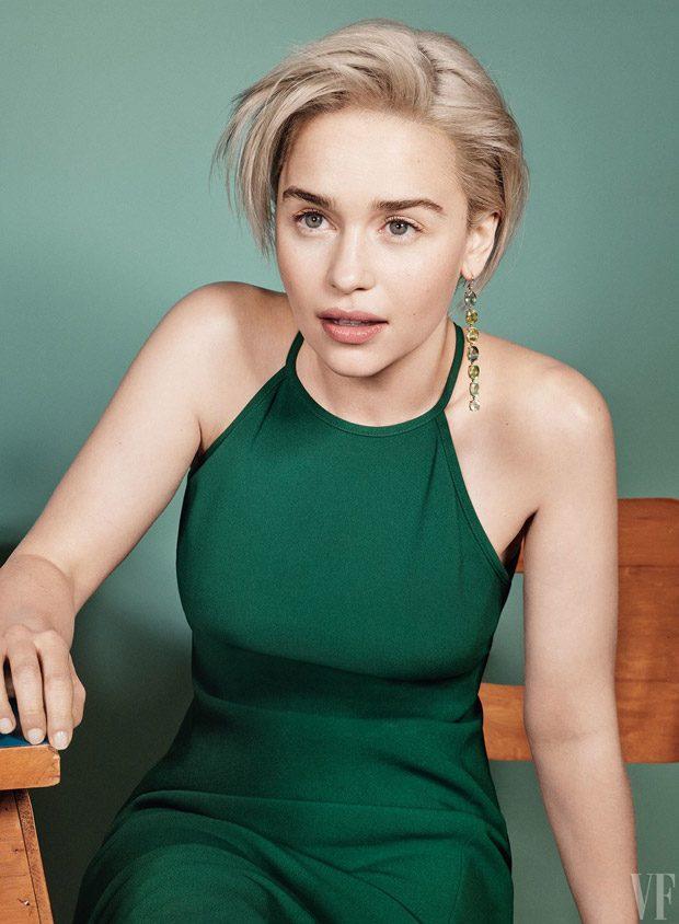 Emilia Clarke Is The Cover Star Of Vanity Fair Summer 2018