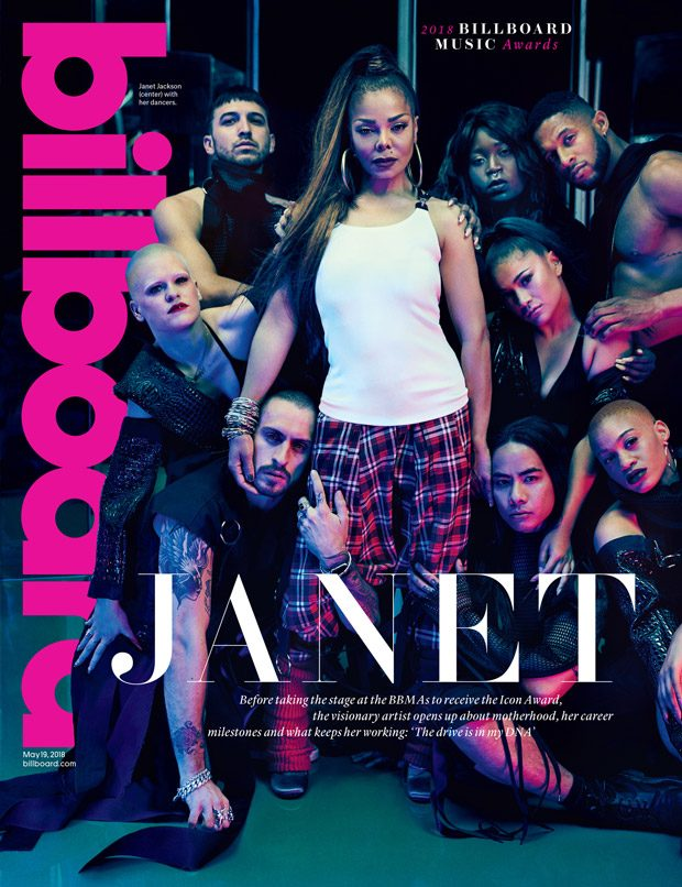 Janet Jackson Stars in the Cover Story of Billboard Magazine