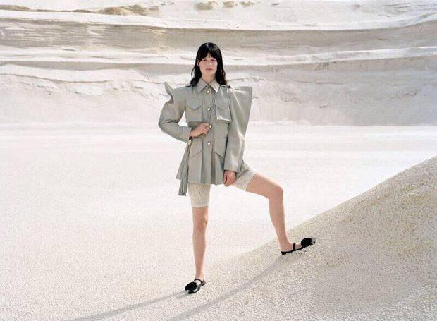 Querelle Jansen Models Nina Ricci Spring Summer 2018 Collection 59ae1f6ffa9