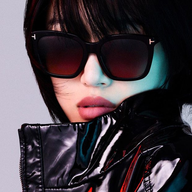 f11375cd3d6 Sora Choi   Li Yufeng Model Tom Ford Spring Summer 2018 Eyewear