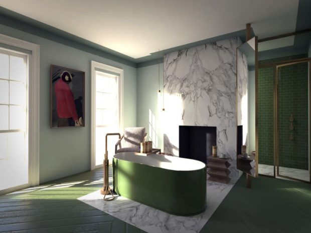 Bathroom Into a Tasteful Space