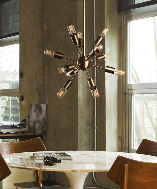 sputnik chandeliers