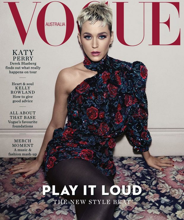 Katy Perry is the Cover Girl of Vogue Australia August 2018 Issue