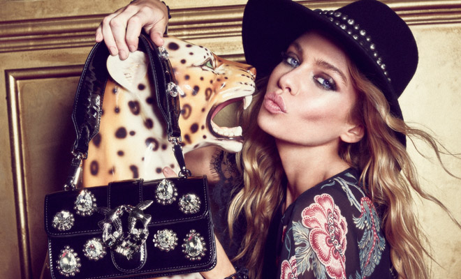 9ee7a1e533d09 Stella Maxwell is the Face of Pinko Fall Winter 2018.19 Collection