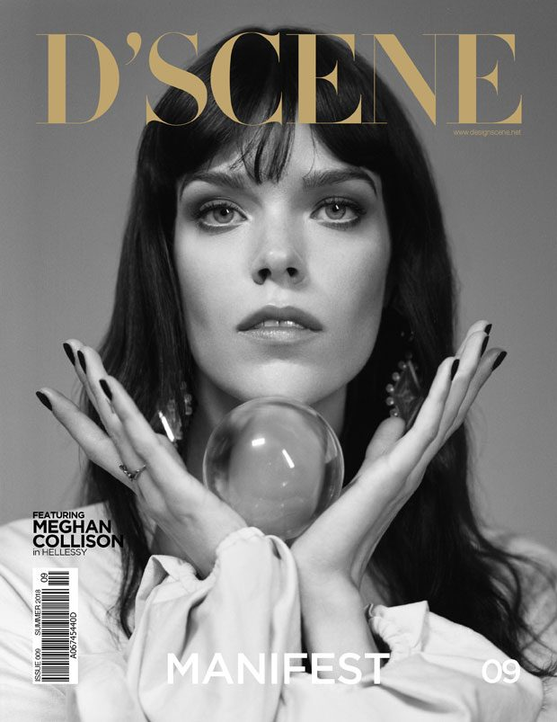 MEGHAN COLLISON 2nd COVER for D'SCENE MAGAZINE ISSUE 09