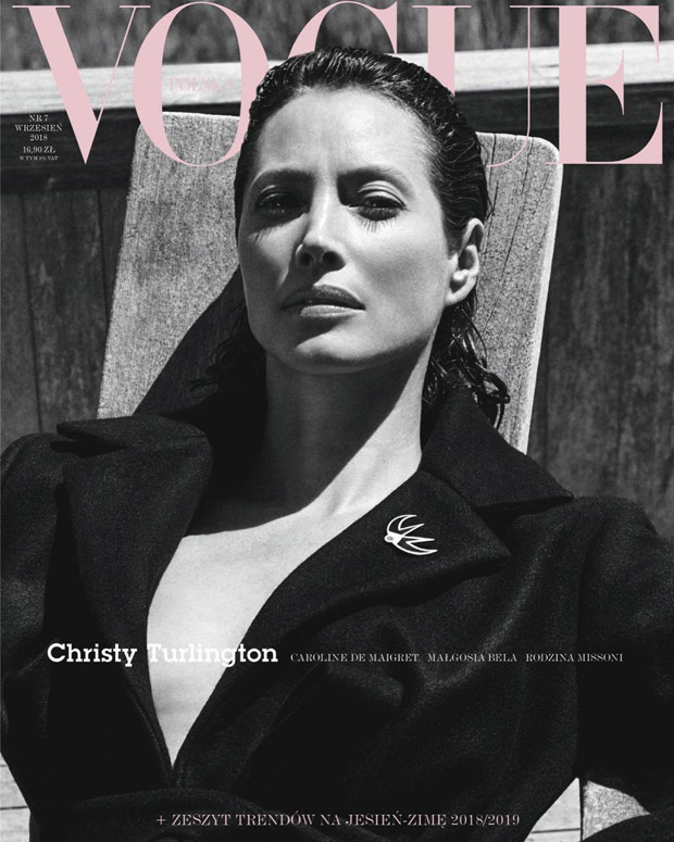 christy turlington covers the september 2018 issue of