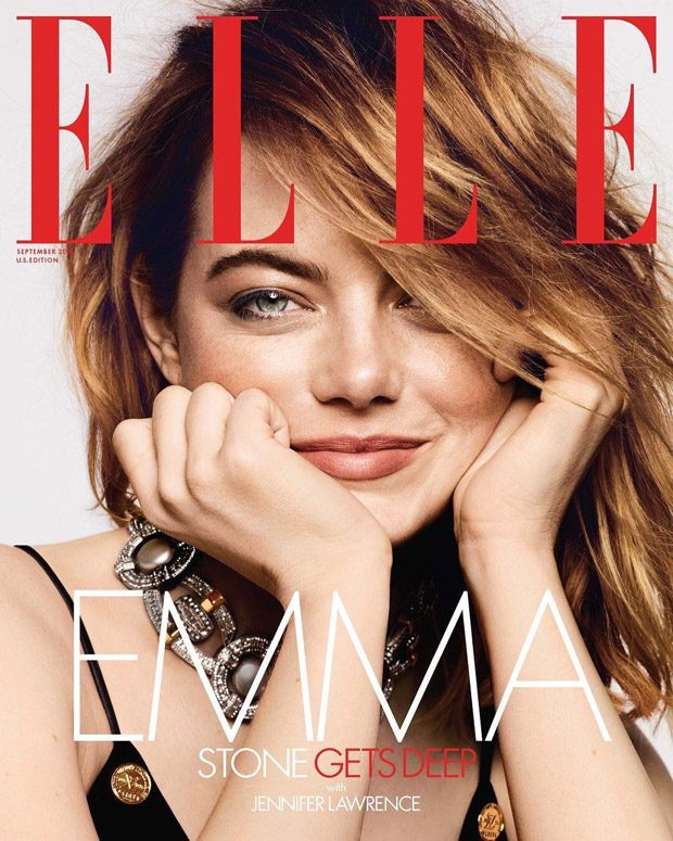 370282dea0f0 Emma Stone Covers the September 2018 Issue of Elle Magazine