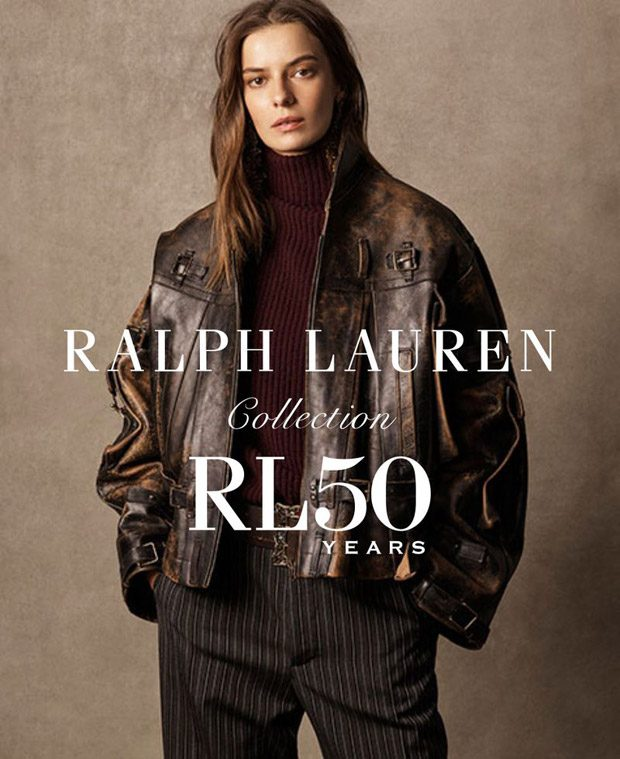Dasha Denisenko Models Ralph Lauren Fall Winter 2018.19 Collection