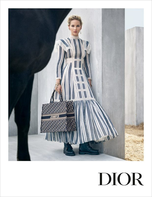 Jennifer Lawrence is the Face of Dior Cruise 2019 Collection 9f7a23390b320