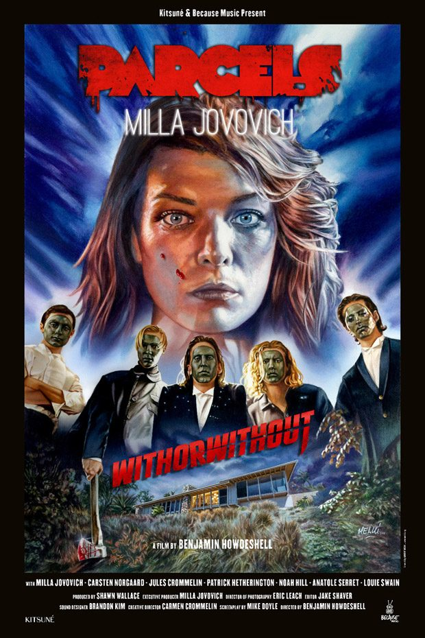 Parcels – Withorwithout Starring Milla Jovovich by Benjamin Howdeshell