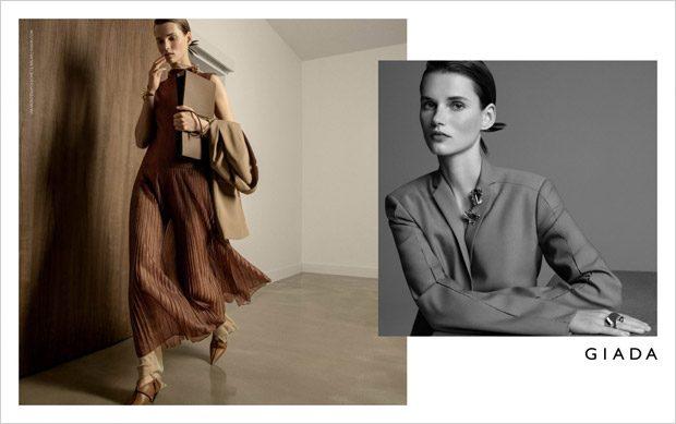 Giedre Dukauskaite Models Giada Spring Summer 2019 Collection