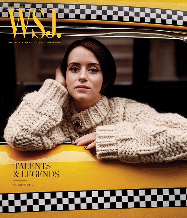 Claire Foy Stars in WSJ. Magazine Talents & Legends Cover Story