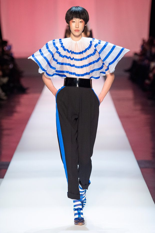004d3ebcbc595 PFW  JEAN PAUL GAULTIER Spring Summer 2019 Haute Couture Collection