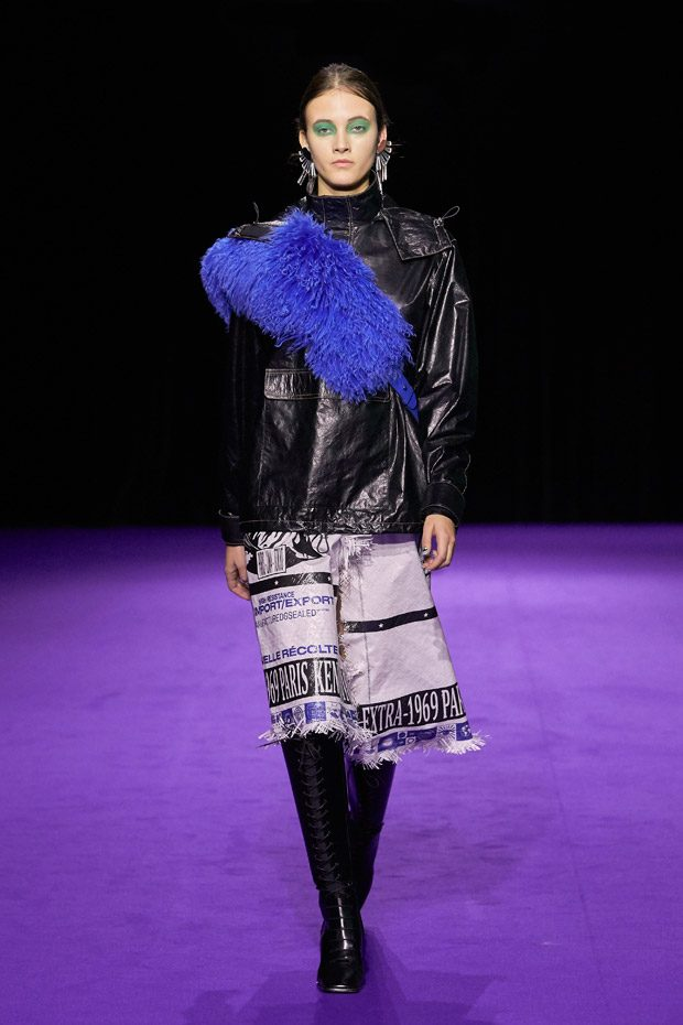 d6ad397a7c6 PFW: KENZO Fall Winter 2019.20 Womenswear Collection