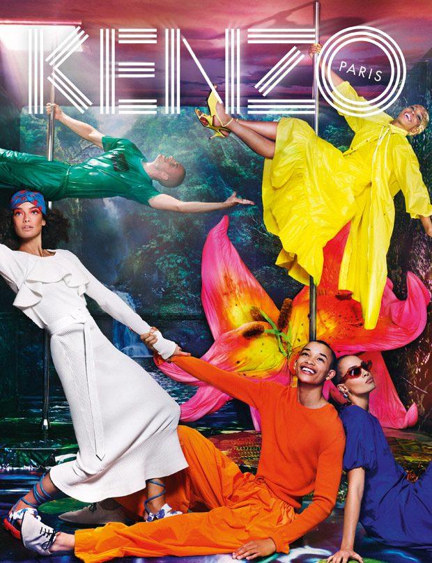 #KENZOTOPIA: Kenzo Spring Summer 2019 by David LaChapelle
