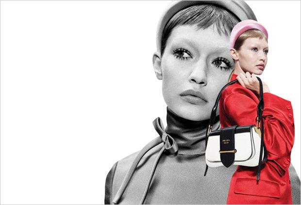 Double Exposure: Prada Spring Summer 2019 by Willy Vanderperre