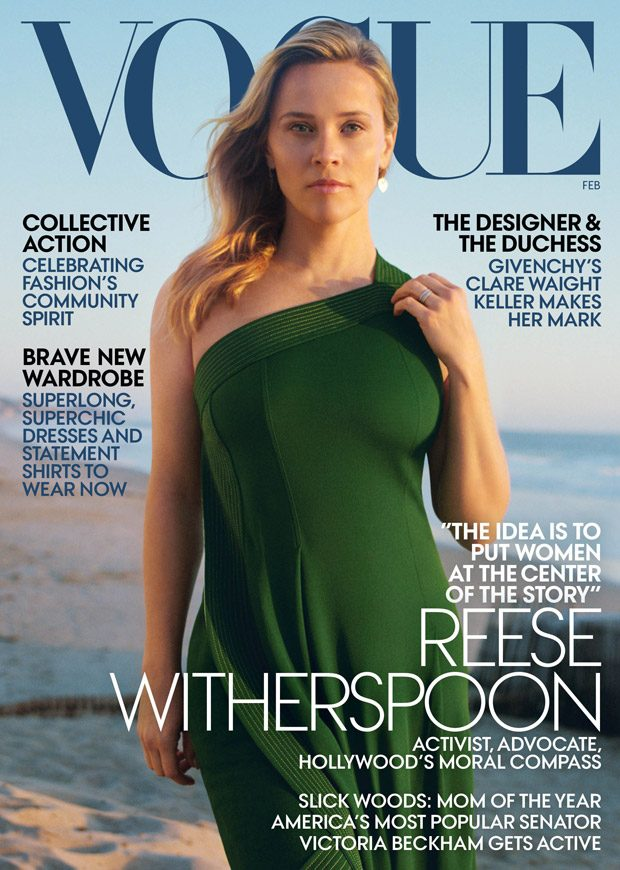 Reese Witherspoon Stars in American Vogue February 2019 Cover Story