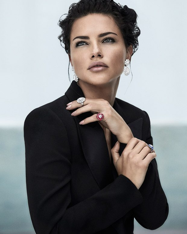 Adriana Lima is the Face of Chopard Spring Summer 2019 Collection