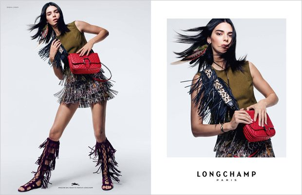 Kendall Jenner is the Face of Longchamp Spring Summer 2019 Collection
