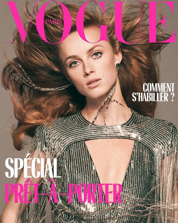 Rianne Van Rompaey is the Cover Star of Vogue Paris March 2019 Issue