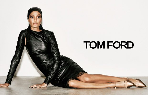Gigi Hadid & Joan Smalls Model Tom Ford Spring Summer 2019 Collection